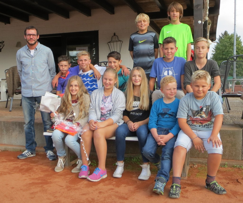 Jugendabschluss 2015 Tuspo Ziegenhain Tennis