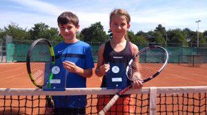 Greta Hastrich und Philipp Knapp Tennis-Kreismeister 2017
